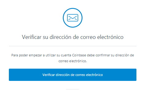 verificar correo coinbase