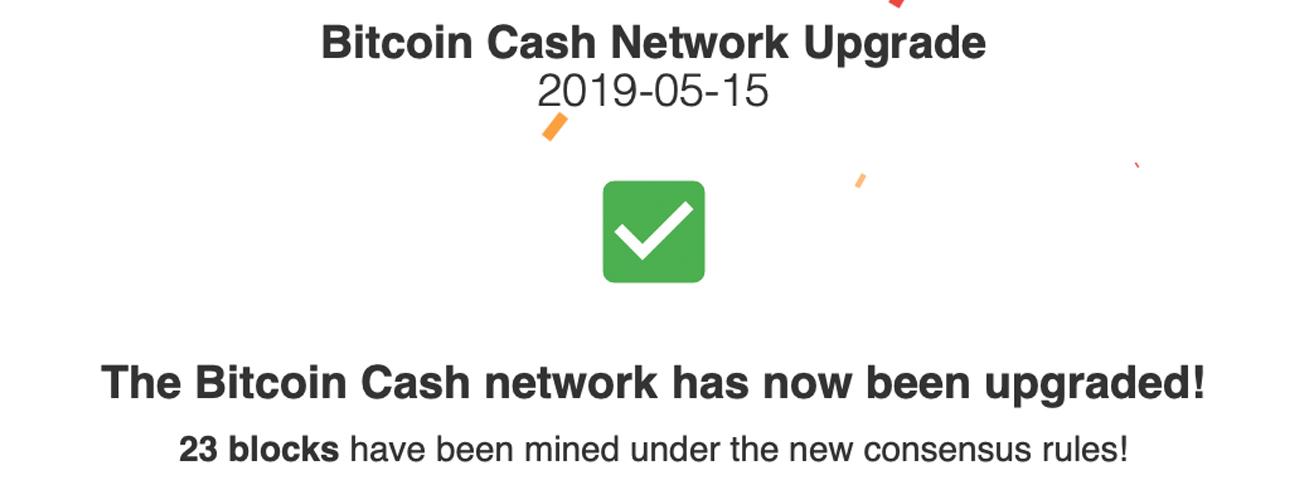 El protocolo de efectivo de Bitcoin se actualiza con éxito: las firmas de Schnorr están aquí