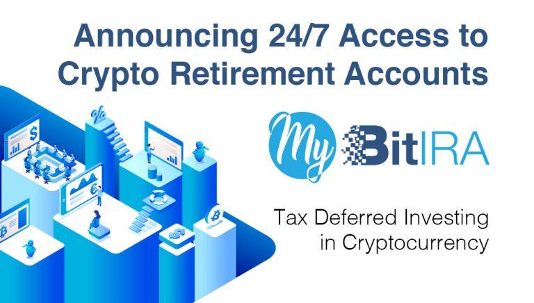 PR: Mi BitIRA se lanza para capacitar a los consumidores de los EE. UU. Con acceso a la cuenta de jubilación de criptomonedas 24/7